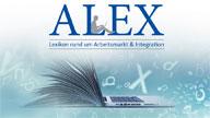 """Logo """"ALEX"""""""