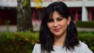 Eine Teilnehmerin des Projektes