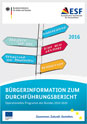 Cover: Bürgerinformation 2016
