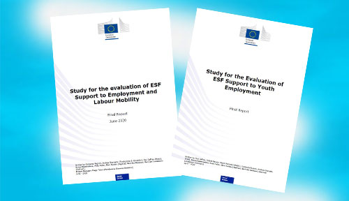 "(Cover ""Studies for the evaluation of ESF Support to Employmernt and Labour Mobility"")"